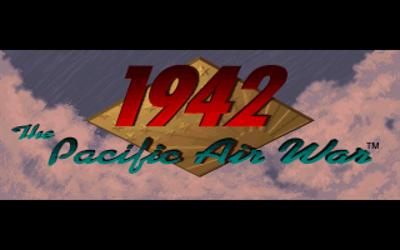 1942: The Pacific Air War - Screenshot - Game Title