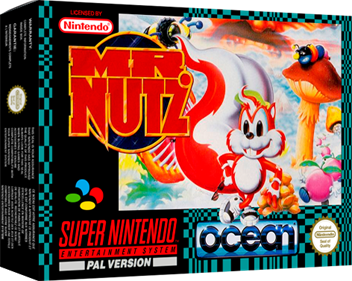 Mr. Nutz - Box - 3D