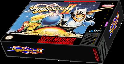 Sonic Blast Man II - Box - 3D