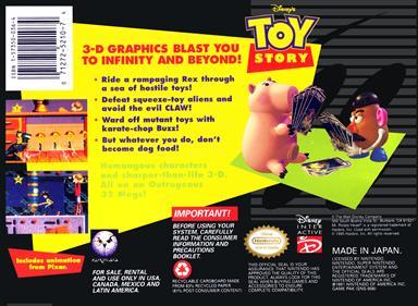 Toy Story - Box - Back