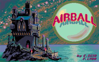 Airball - Screenshot - Game Title