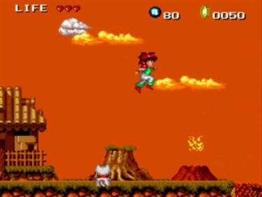 Keith Courage in Alpha Zones - Screenshot - Gameplay