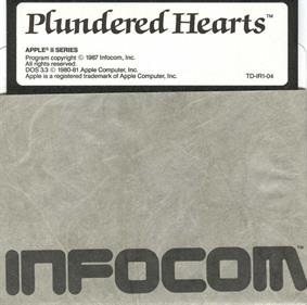 Plundered Hearts - Disc