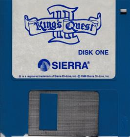 King's Quest III: To Heir is Human - Disc