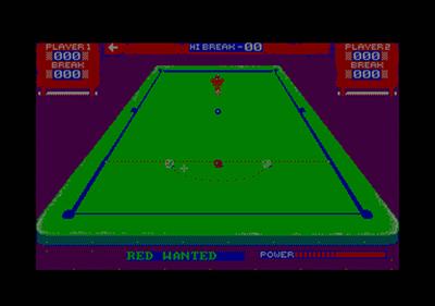3D Snooker - Screenshot - Gameplay