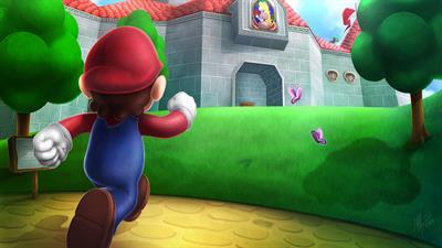 Super Mario 64 - Fanart - Background