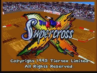 SuperCross 3D - Screenshot - Game Title