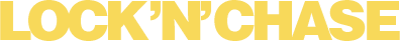 Lock 'n' Chase - Clear Logo