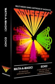 Math-A-Magic / Echo - Box - 3D