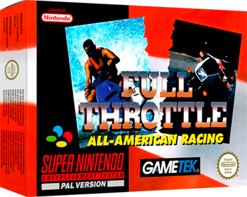 Full Throttle: All-American Racing - Box - 3D