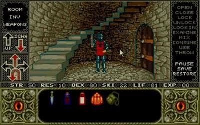 Elvira: Mistress of the Dark - Screenshot - Gameplay