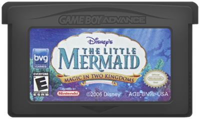 The Little Mermaid: Magic in Two Kingdoms - Cart - Front