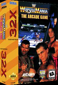 WWF WrestleMania: The Arcade Game - Box - 3D