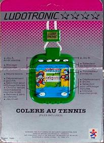 Tennis Menace - Box - Back