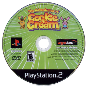 The Adventures of Cookie and Cream - Disc