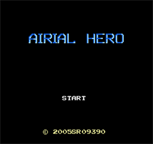 Airial Hero - Screenshot - Game Title