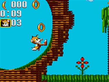 Sonic the Hedgehog: Triple Trouble - Screenshot - Gameplay