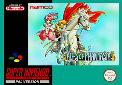 Tales of Phantasia - Fanart - Box - Front