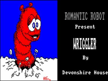 Wriggler - Screenshot - Game Title