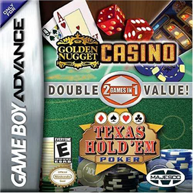 2 Games in 1: Golden Nugget Casino + Texas Hold 'em Poker