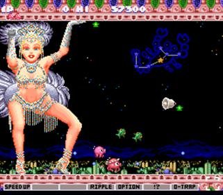 Parodius - Screenshot - Gameplay