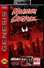 Spider-Man • Venom: Maximum Carnage - Box - Front - Reconstructed