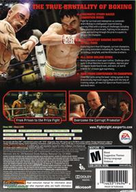 Fight Night  Champion - Box - Back