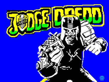 Judge Dredd - Screenshot - Game Title
