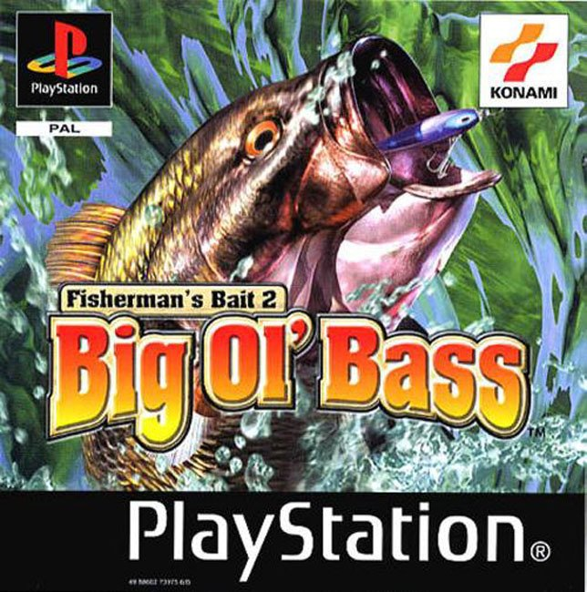 Big ol' bass 2 rom (iso) download for sony playstation / psx.