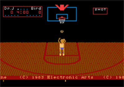One-on-One Basketball - Screenshot - Game Title