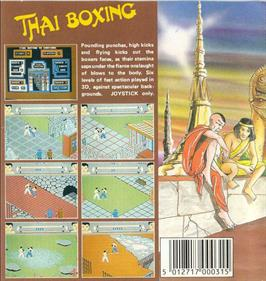 Thai Boxing - Box - Back