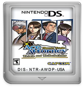 Phoenix Wright: Ace Attorney: Trials and Tribulations - Fanart - Cart - Front