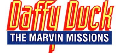 Daffy Duck: The Marvin Missions - Clear Logo
