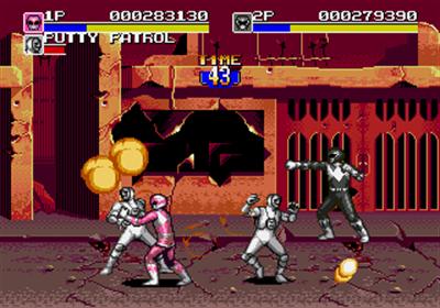 Mighty Morphin Power Rangers: The Movie - Screenshot - Gameplay