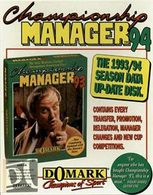 Championship Manager 94: End of 1994 Season Data Up-date Disk