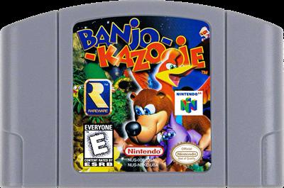 Banjo-Kazooie - Cart - Front