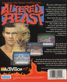 Altered Beast - Box - Back