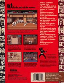 Budokan: The Martial Spirit - Box - Back