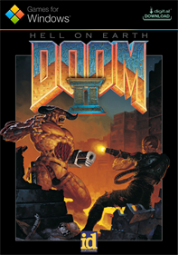 DOOM II - Fanart - Box - Front