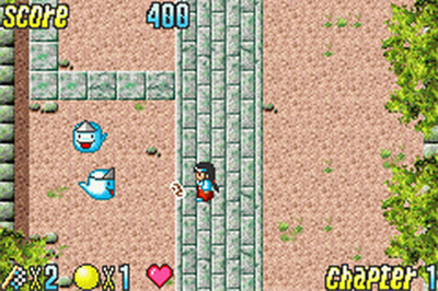 Pocky & Rocky with Becky - Screenshot - Gameplay
