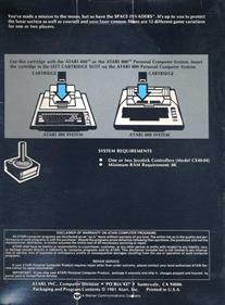 Space Invaders - Box - Back