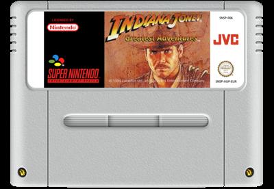 Indiana Jones' Greatest Adventures - Fanart - Cart - Front