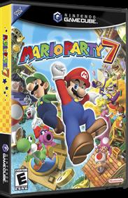 Mario Party 7 - Box - 3D