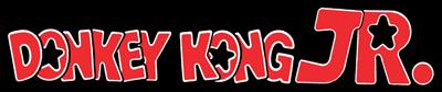 Donkey Kong Jr. (Tabletop) - Clear Logo