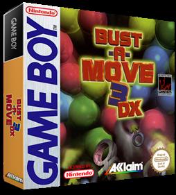 Bust-A-Move 3 DX - Box - 3D