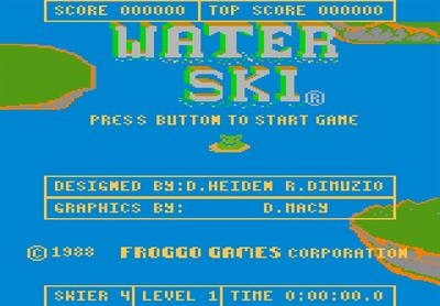 Water Ski - Screenshot - Game Title