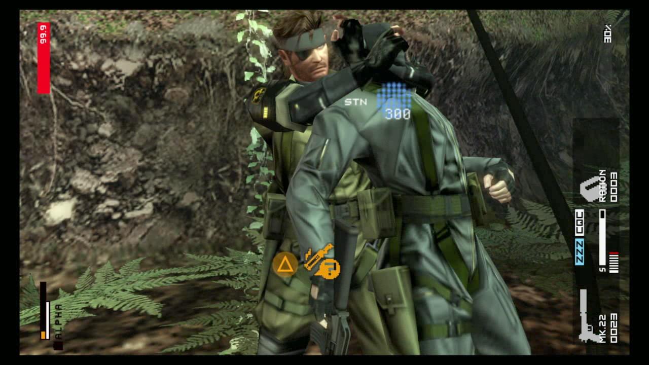 Metal Gear Solid  Peace Walker Hd Edition Details