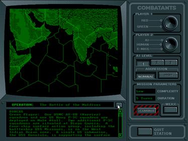 5th Fleet - Screenshot - Game Select