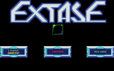 Extase - Screenshot - Game Select