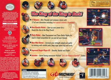 Ready 2 Rumble Boxing: Round 2 - Box - Back